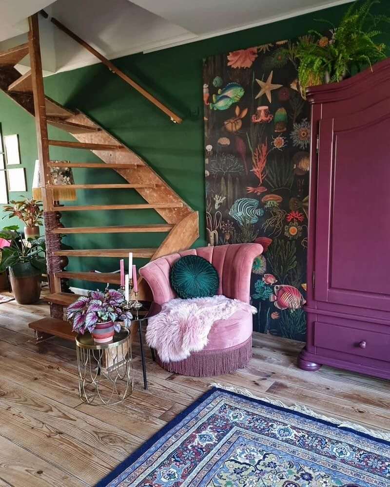 Pleasing Home Decor Ideas Living Room Modern Boho area Rug with Plum Accents On Lovely Boho Style Ideas for Interior Designs and Decor On Home Decor Ideas Living Room Modern Boho area Rug with Plum Accents