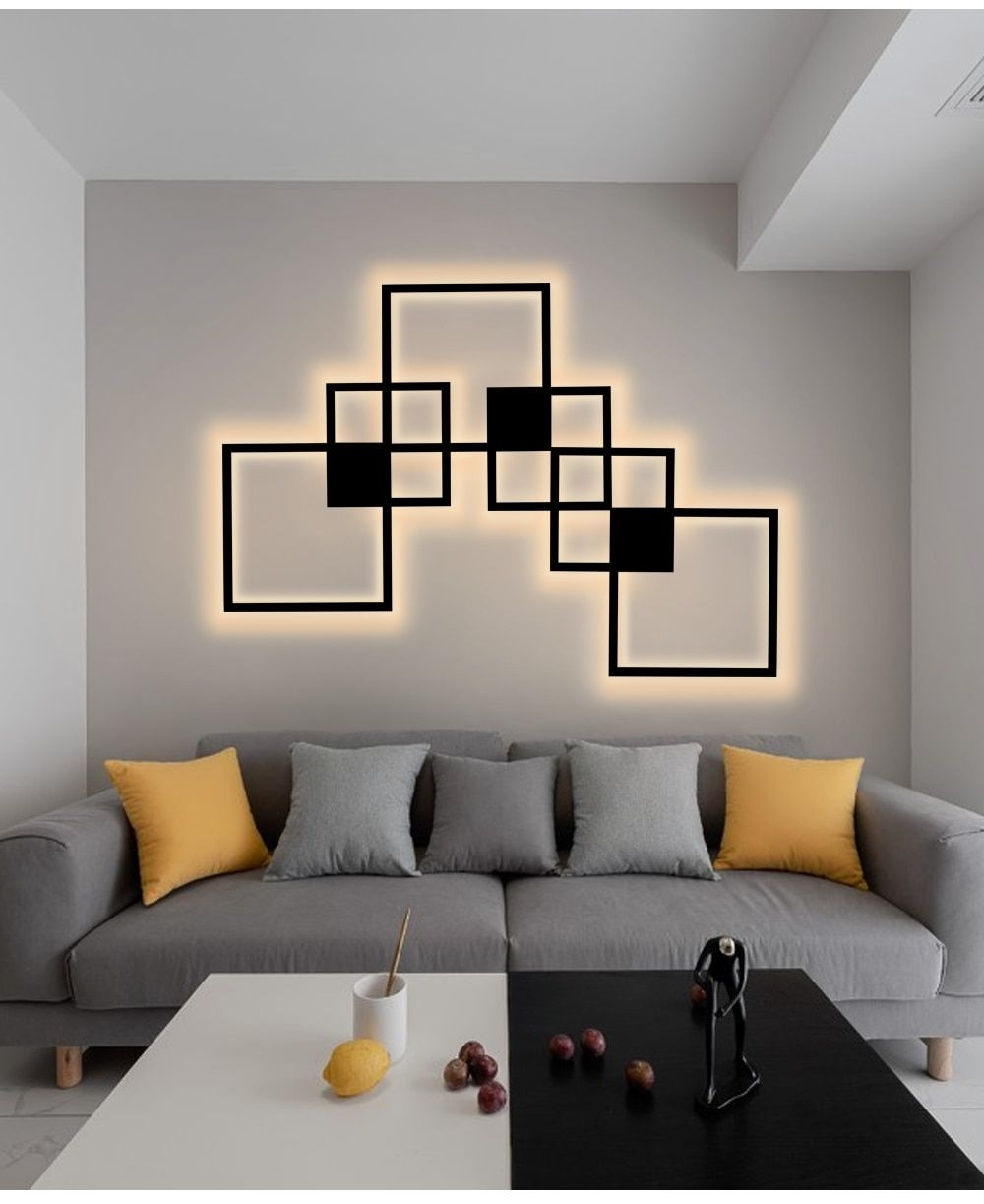 Prodigious Wall Art Designs for Living Room On Lovely Diy Wall Decoration Panel Lamp nordic Garner On Wall Art Designs for Living Room