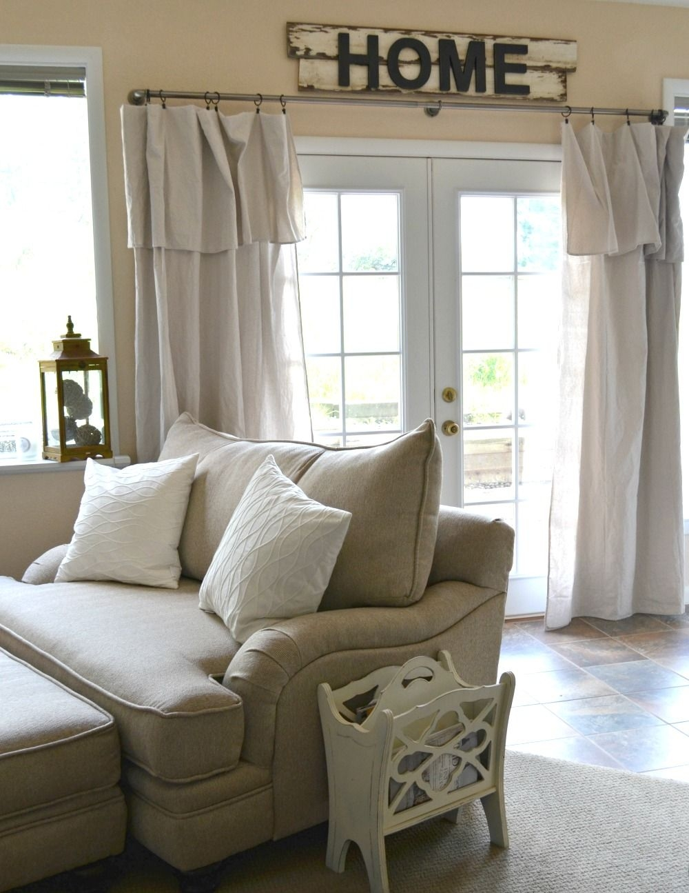 Stupendous Country Style Curtains Living Room On Nice-looking Simple & Cozy Basement tour Sarah Joy On Country Style Curtains Living Room