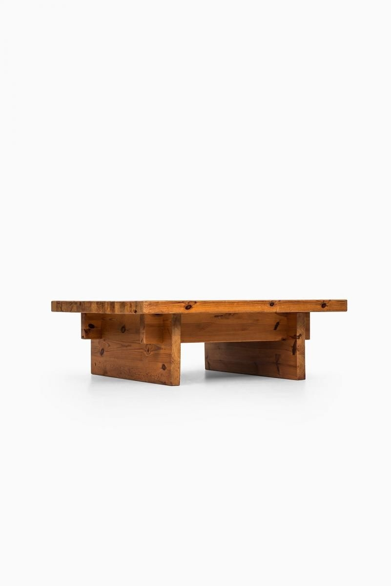 Impressive Large Oak Coffee Table On Stunning Vintage Coffee Table by Roland Wilhelmsson for Karl On Large Oak Coffee Table
