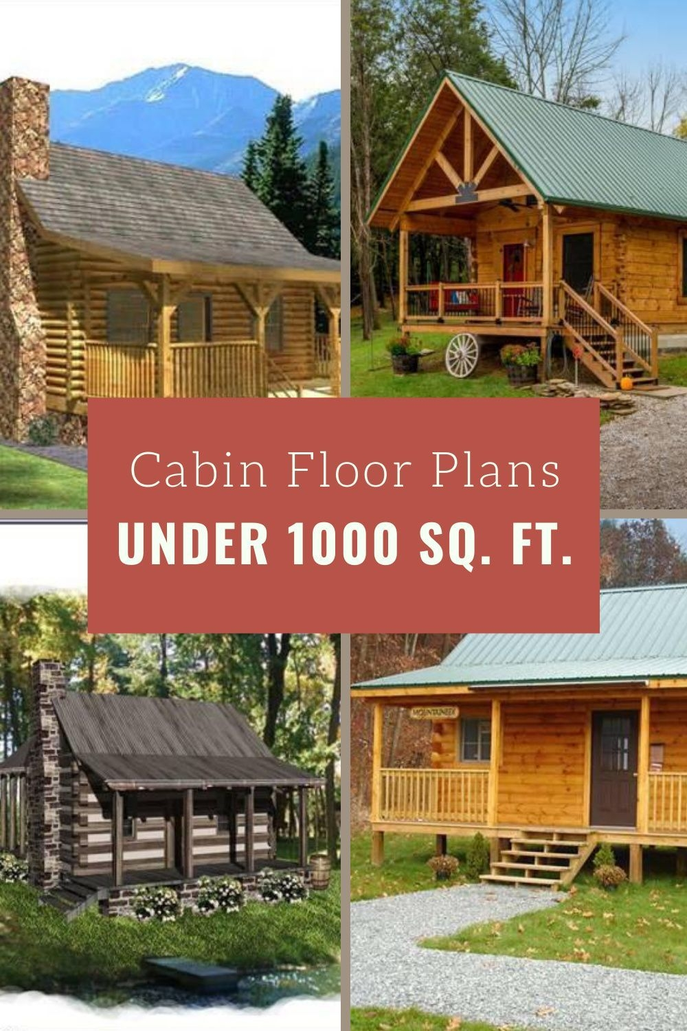 Extraordinary Small Cabin Plans On Stupendous Cabin Floor Plans Under 1 000 Square Feet On Small Cabin Plans