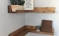 ✔️ 55 wall shelves design ideas show off your precious possessions with floating wall shelves 26