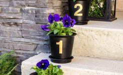 patio decorating ideas with potted plants