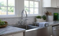 gray farm sinks for kitchens