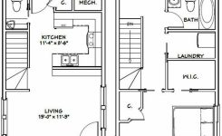 2 Bedroom Cabin Floor Plans