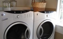 decorating a small laundry room