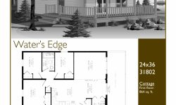 ✔15+ Breathtaking 24×36 Cabin Floor Plans