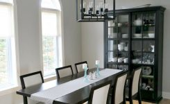 best color for a dining room dark wood trim