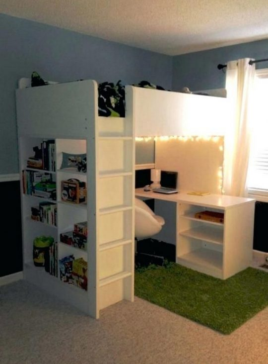 Permalink to 30+ Bunk Beds Design Ideas  With Desk Areas Help to Make Compact Bedrooms Bigger