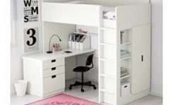 30+ Bunk Beds Design Ideas With Desk Areas Help To Make Compact Bedrooms Bigger 14
