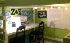 30+ Bunk Beds Design Ideas With Desk Areas Help To Make Compact Bedrooms Bigger 17