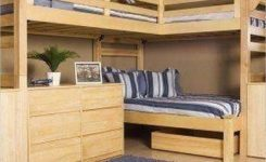 30+ Bunk Beds Design Ideas With Desk Areas Help To Make Compact Bedrooms Bigger 18
