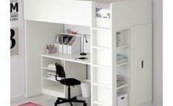 34 Bunk Bed Design Ideas With The Most Enthusiastic Desk In Interest 12