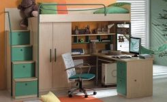 34 Bunk Bed Design Ideas With The Most Enthusiastic Desk In Interest 13