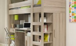 34 Bunk Bed Design Ideas With The Most Enthusiastic Desk In Interest 32