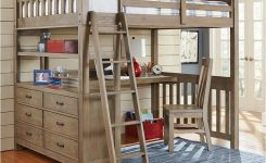 34 Bunk Bed Design Ideas With The Most Enthusiastic Desk In Interest 5
