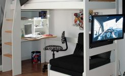 34 Bunk Bed Design Ideas With The Most Enthusiastic Desk In Interest 7