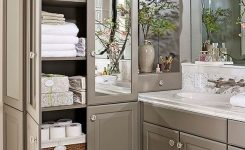 49 Small Bathroom Storage Decoation Ideas Here's How To Get All The Space You Need 28
