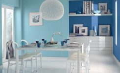 two color dining room walls
