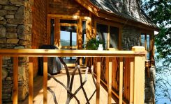 53 best rustic mountain home plans unique taos luxury mountain home deck 01 from houseplansandmore