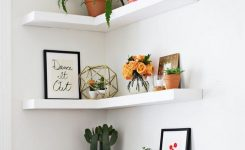 55 Luxury Corner Shelves Ideas 027