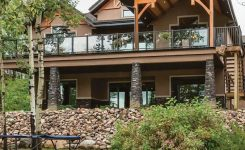 65 mountain cabin plans hillside elegant best 5 ideas for covering your deck covered deck ideas