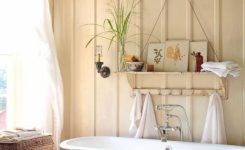 Easy Bathroom Makeover Inspirations With Cheap Decoration And