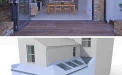 70+ Most Popular Modern Flat Roof House Design 35