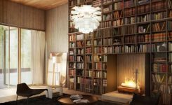 84 Fantastic Floor To Ceiling Bookshelves With Ladder
