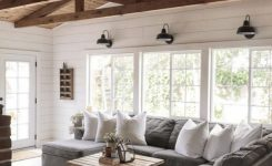 Awesome 45 Cozy Modern Rustic Living Room Decor Ideas You Must Try