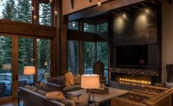 Lake Tahoe Away Features Contemporary Barn Aesthetic