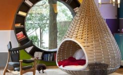 89 Models Beautiful Circular Bookshelf Design For Complement Of Your Home Decoration 16