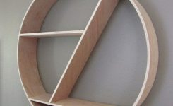 89 Models Beautiful Circular Bookshelf Design For Complement Of Your Home Decoration 4
