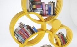 89 Models Beautiful Circular Bookshelf Design For Complement Of Your Home Decoration 54