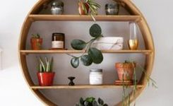 89 Models Beautiful Circular Bookshelf Design For Complement Of Your Home Decoration 60