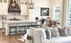 90 Most Popular Farmhouse Style Interior Design 20