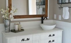 23 Awesome Modern Farmhouse Bathroom Vanity Ideas