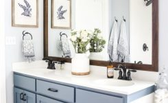 74 Awesome Modern Farmhouse Bathroom Vanity Ideas