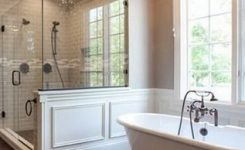 92 Pleasurable Master Bathroom Ideas
