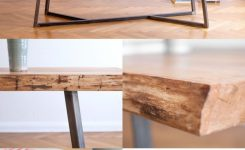 93 live edge coffee table awesome favorite table legs of all time nutsandwoods – oak steel table