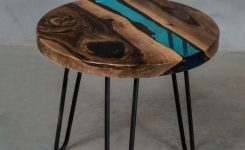 93 live edge coffee table beautiful personalised blue live edge coffee table made of walnut slabs