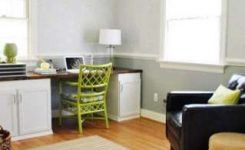 color combinations for kitchens and dining rooms with chair rail