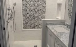 Tile Shower Ideas For Small Bathrooms Installing Accent Tiles In