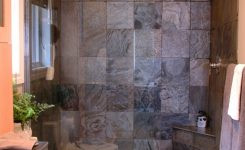Image Detail For Small Bath With Walk In Shower Natural Maple