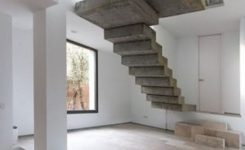 95 Cool Modern Staircase Designs For Homes (15)