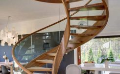 95 Cool Modern Staircase Designs For Homes (22)