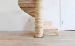 95 Cool Modern Staircase Designs For Homes (32)