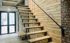 95 Cool Modern Staircase Designs For Homes (60)