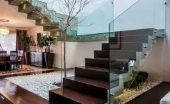 95 Cool Modern Staircase Designs For Homes (7)
