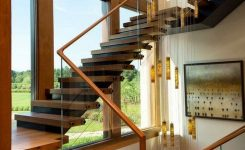 95 Cool Modern Staircase Designs For Homes (78)